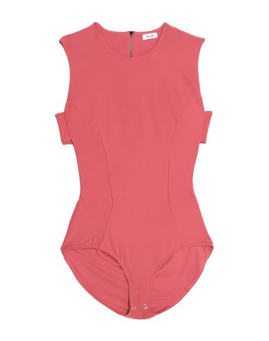 Alix Bodysuits In Coral