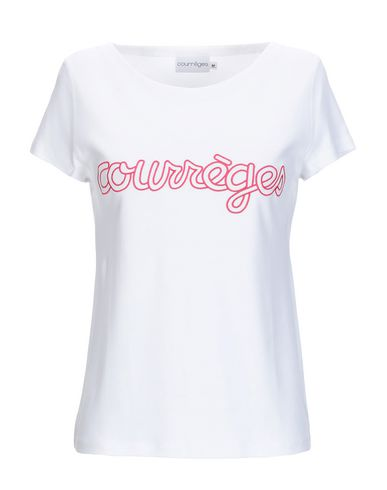 9e8607b6000 Courrèges T-Shirt - Women Courrèges T-Shirts online on YOOX Portugal ...