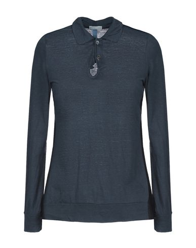 SACAI LUCK Polo Shirt in Slate Blue