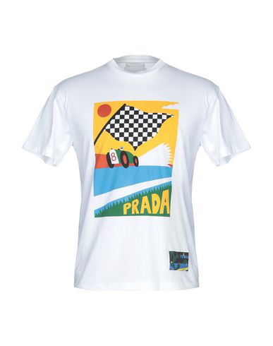 d883e217c Prada T-Shirt - Men Prada T-Shirts online on YOOX Sweden - 12256228AP