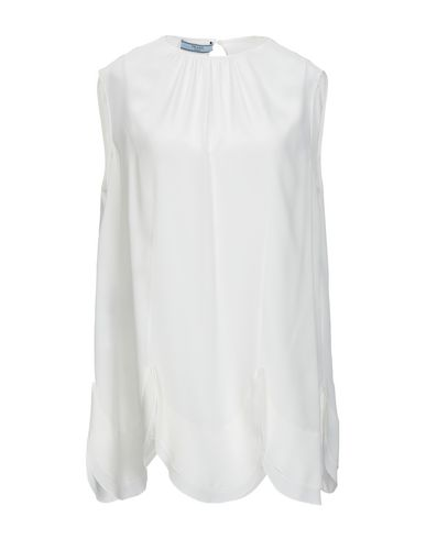 Prada Silk Top   T Shirts And Tops by Prada
