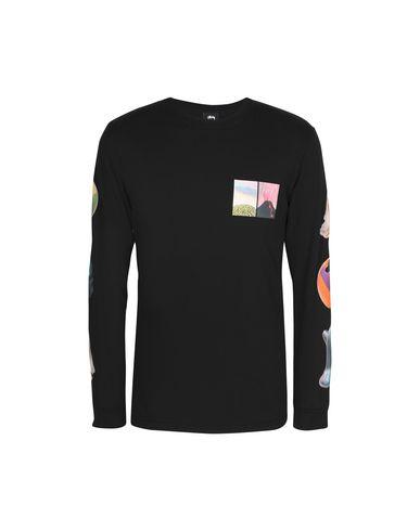 Stussy Primordial World Ls Tee - T-Shirt - Men Stussy T-Shirts ... fed8e29cb49