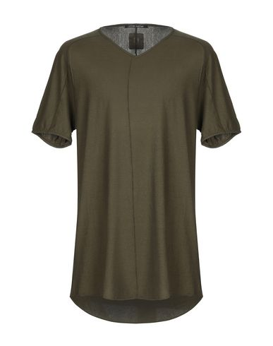 HANNES ROETHER T-Shirt in Military Green