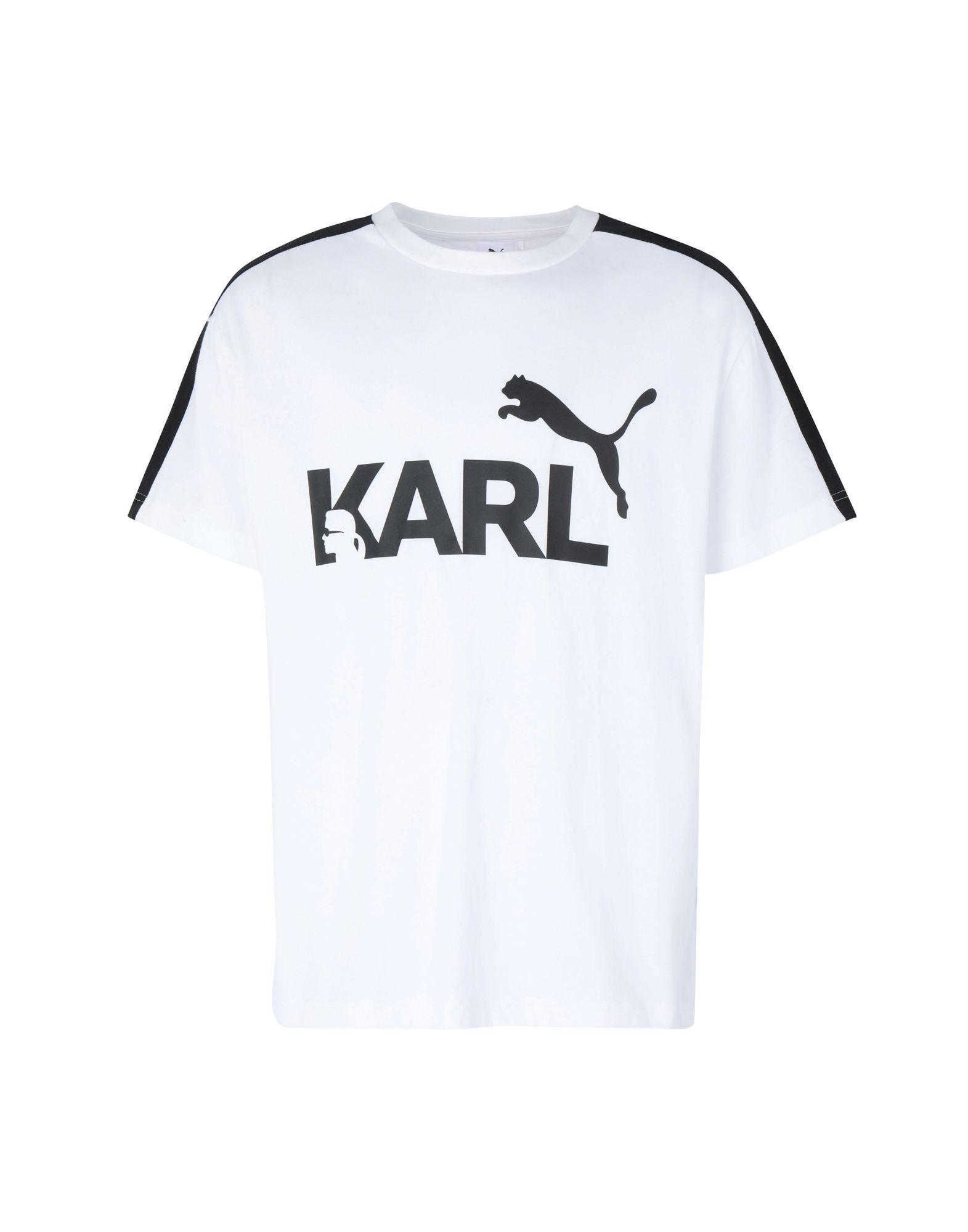 5c58658c Puma X Karl Lagerfeld Puma X Karl Lagerfeld Tee - Sport T-Shirt ...