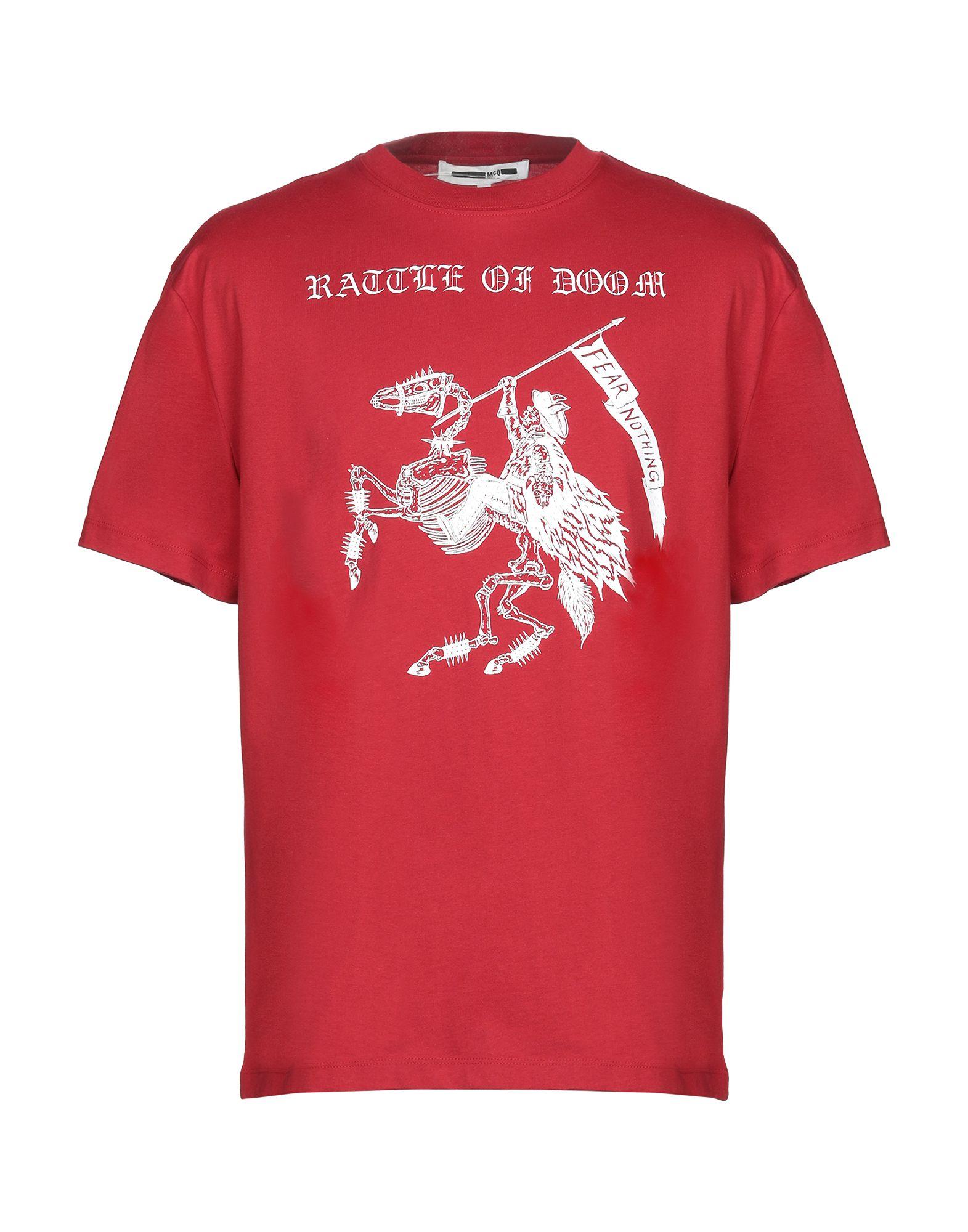 45b87738043 Mcq Alexander Mcqueen T-Shirt - Men Mcq Alexander Mcqueen T-Shirts ...