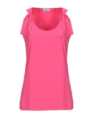 BLUMARINE BEACHWEAR T-Shirt in Fuchsia