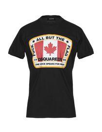 save off 08ccb fac5a Saldi T-Shirt Dsquared2 Uomo - Acquista online su YOOX