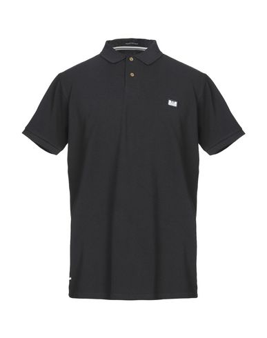 WEEKEND OFFENDER Polo Shirt in Black