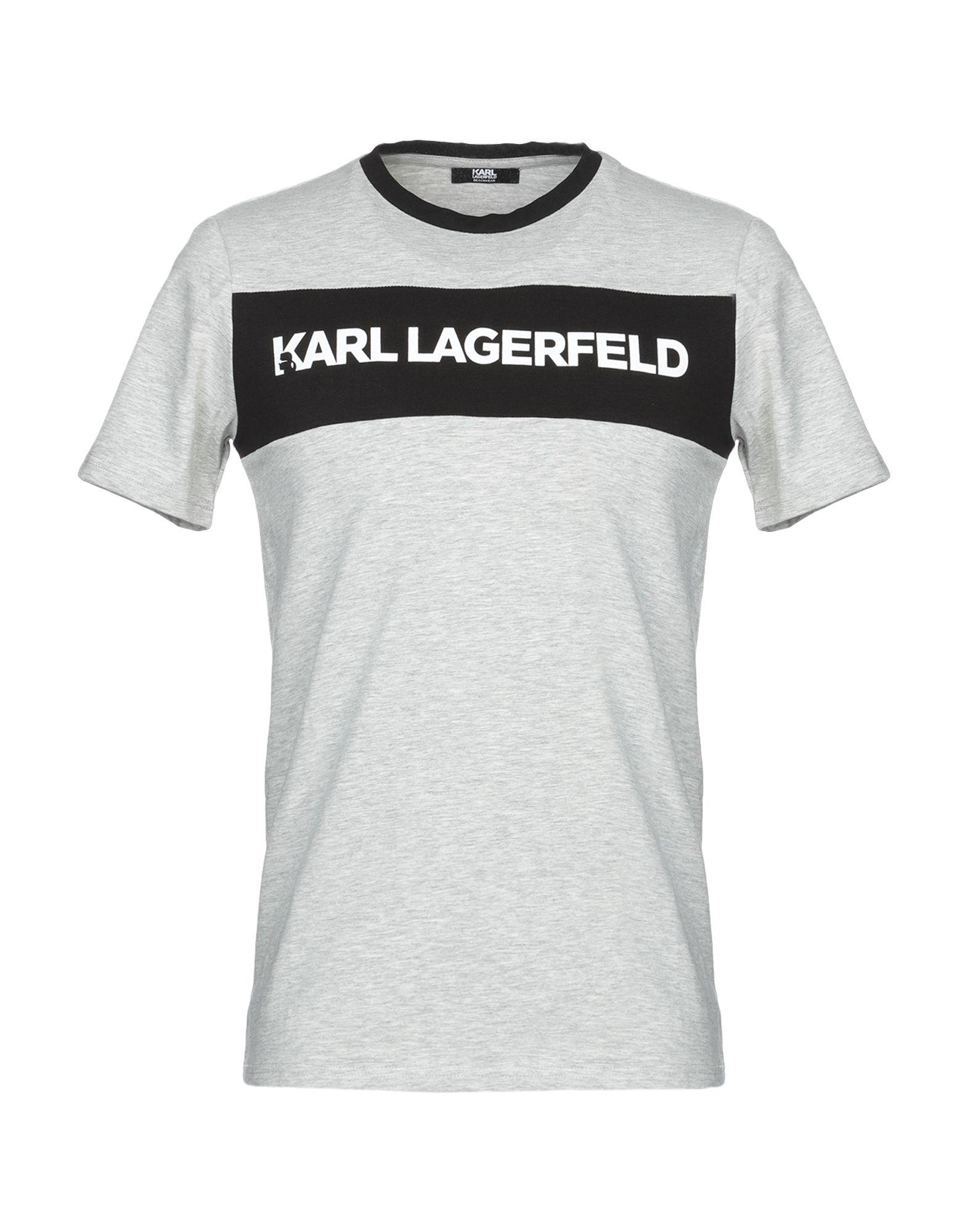 80d79d5e0f9 Karl Lagerfeld T-Shirt - Men Karl Lagerfeld T-Shirts online on YOOX ...