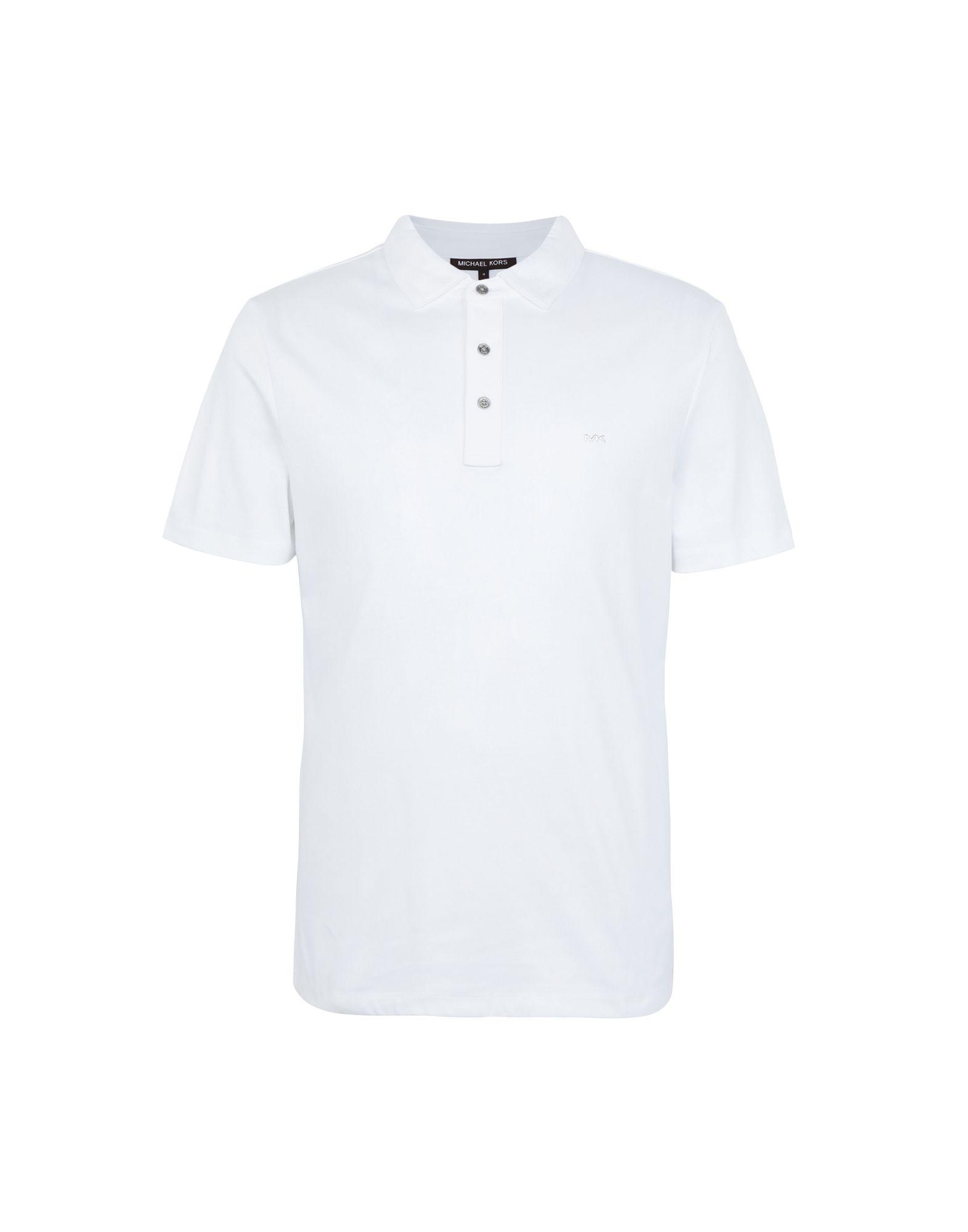 1a8de897 Michael Kors Sleek Mk Polo - Polo Shirt - Men Michael Kors Polo ...