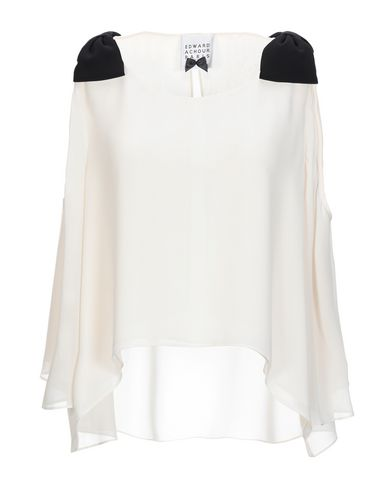 EDWARD ACHOUR Blouse in Ivory