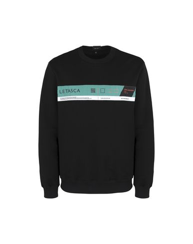 LETASCA Sweatshirt in Black