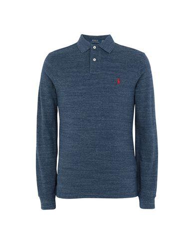 43028b39 Polo Ralph Lauren Slim Fit Mesh Long Sleeve Polo - Polo Shirt - Men ...