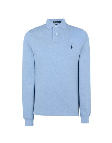 e73484f0ed12 Polo Ralph Lauren Slim Fit Mesh Long Sleeve Polo - Polo Shirt - Men ...