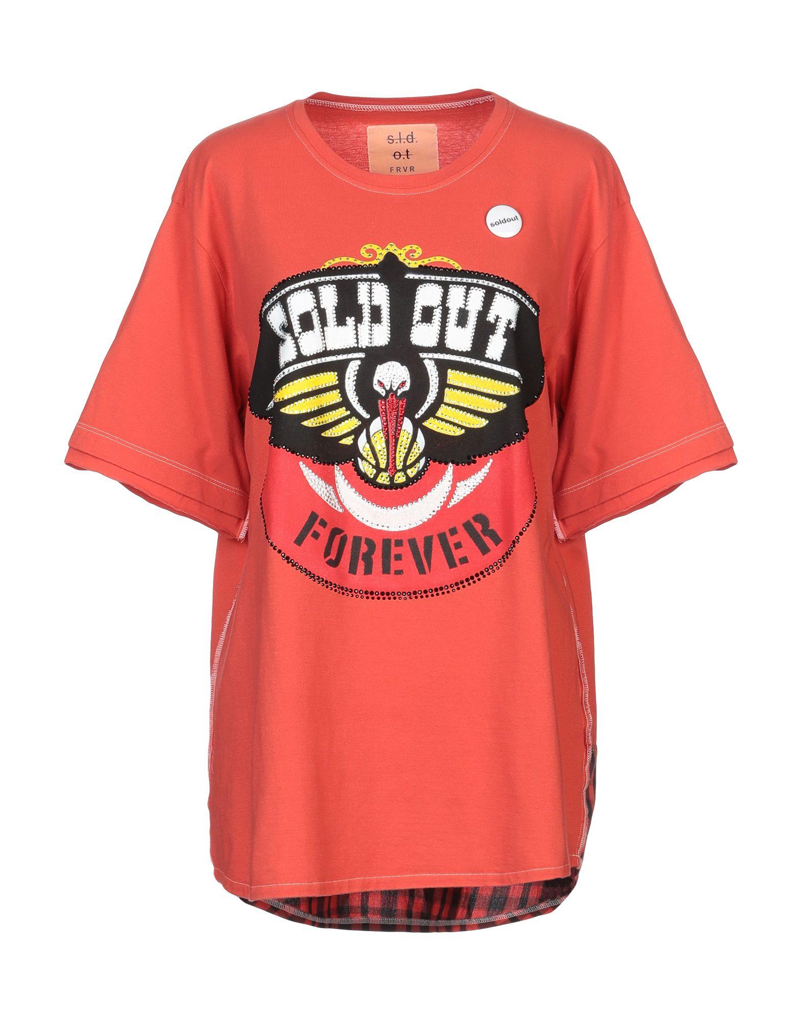 T-Shirt Sold Out Out donna - 12279865DP  kosteneffizient