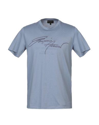 b5c729b7be6 Emporio Armani T-Shirt - Men Emporio Armani T-Shirts online on YOOX ...