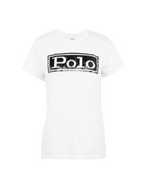 432e21846374 T-Shirt Donna Ralph Lauren Collezione Primavera-Estate e Autunno ...