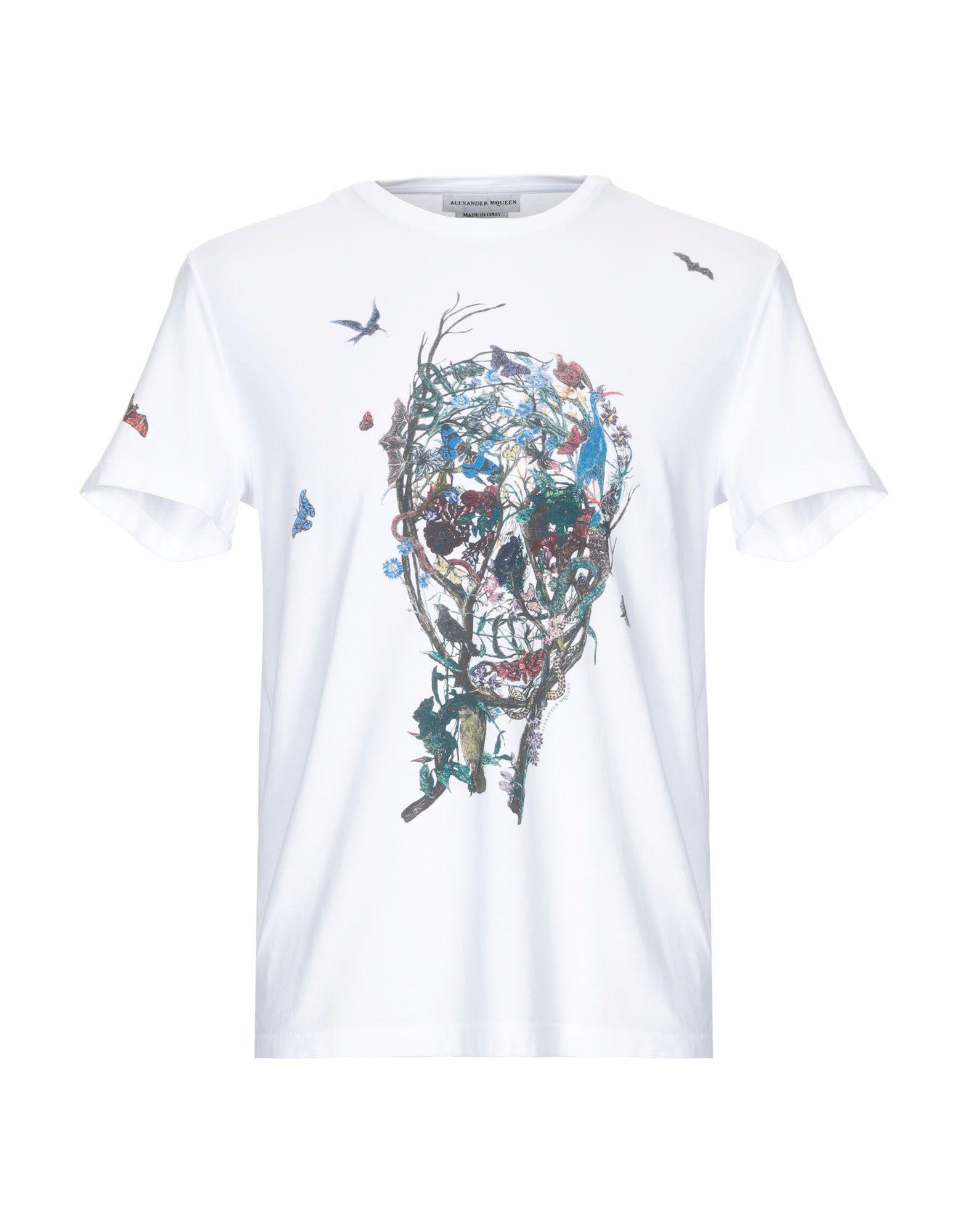 the latest 6631b cd684 ALEXANDER MCQUEEN T-shirt - T-Shirts and Tops   YOOX.COM