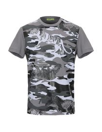 T-Shirts Camouflage Versace Jeans - Versace Jeans Homme - YOOX 8fdbdd62e24