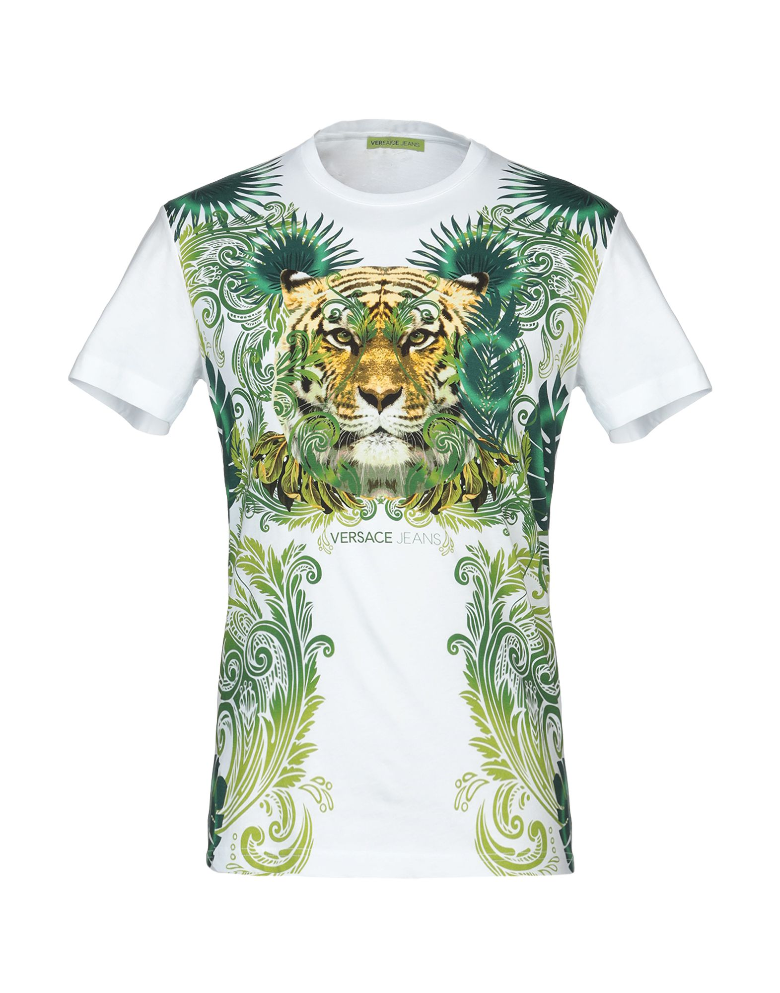 3277a2647ef Versace Jeans T-Shirt - Men Versace Jeans T-Shirts online on YOOX United  States - 12287435SR