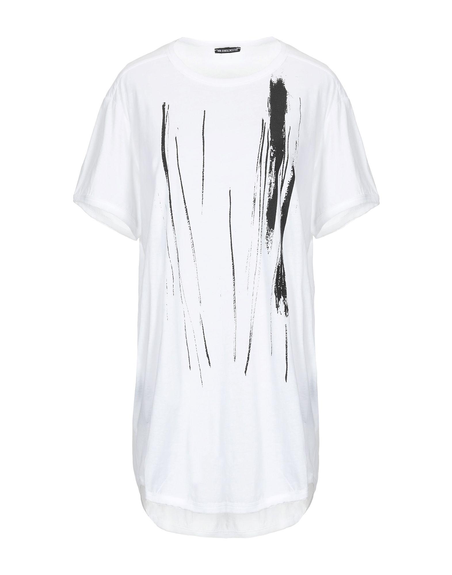 f3c68bd0c900 Ann Demeulemeester T-Shirt - Women Ann Demeulemeester T-Shirts online on YOOX  United States - 12289498KR
