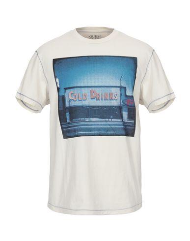 1fe4bb1d2a38 Guess T-Shirt - Men Guess T-Shirts online on YOOX Romania - 12293778FK
