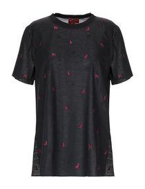 T-Shirt Seta Donna Collezione Primavera-Estate e Autunno-Inverno ... 7bc7fe35478