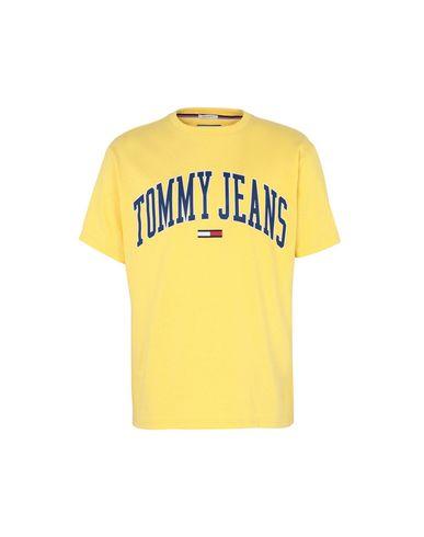 971d8642 Tommy Jeans Tjm Collegiate Logo - T-Shirt - Men Tommy Jeans T-Shirts ...