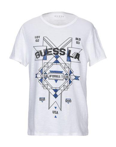 8dfd6182486a Guess T-Shirt - Men Guess T-Shirts online on YOOX Romania - 12303761UE
