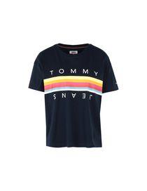 1b0f359596 T-Shirt Donna Tommy Hilfiger Collezione Primavera-Estate e Autunno ...