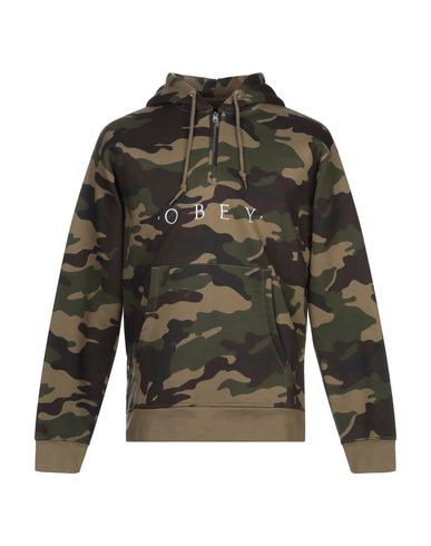 OBEY - Hooded track jacket