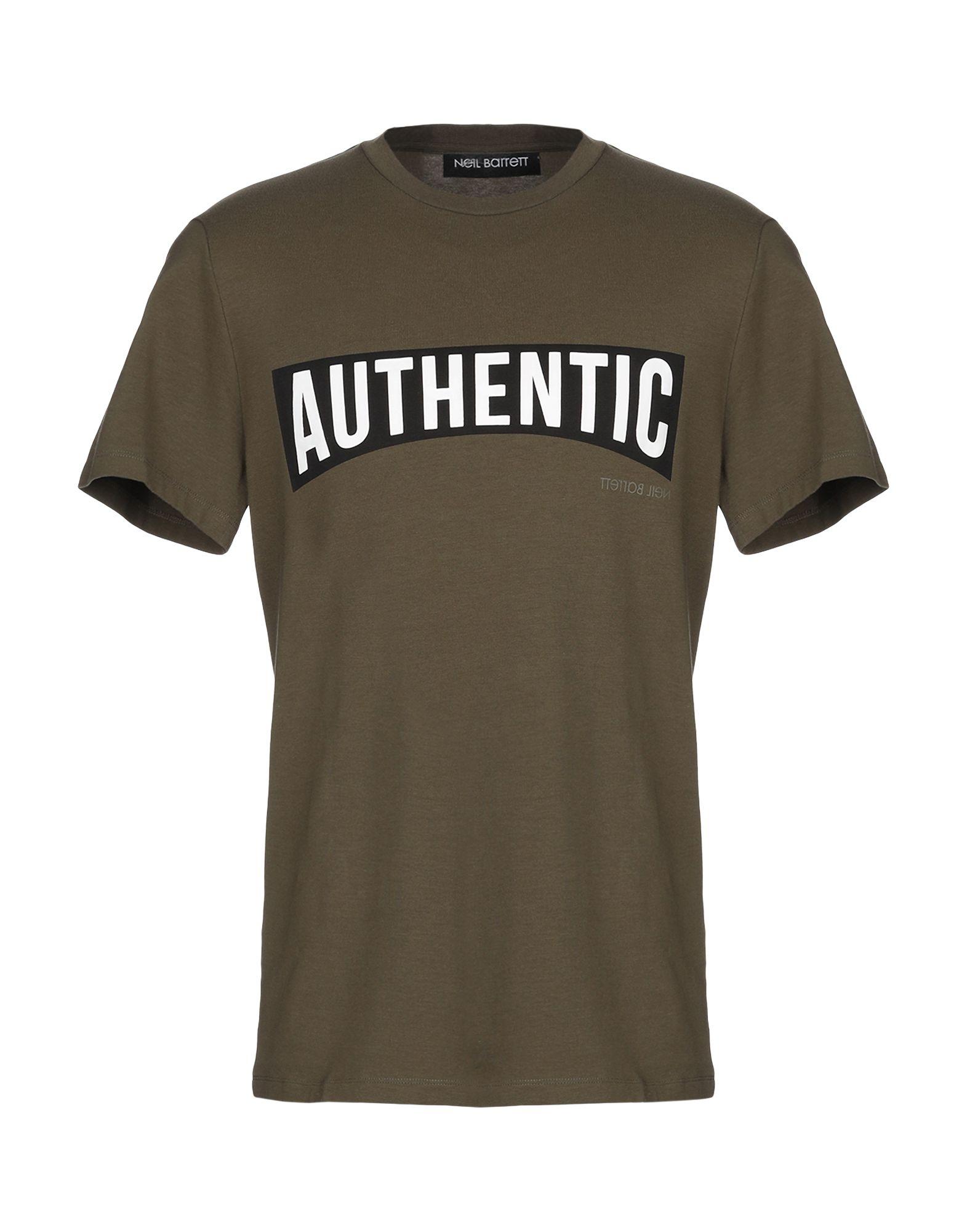 T-Shirt Neil Barrett Barrett uomo - 12308827AG  verschiedene Größen