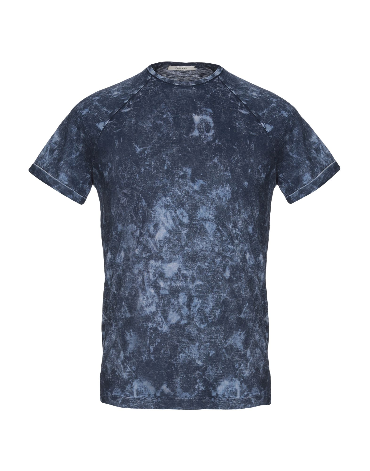 T-Shirt Wool & Co herren - 12309934UK