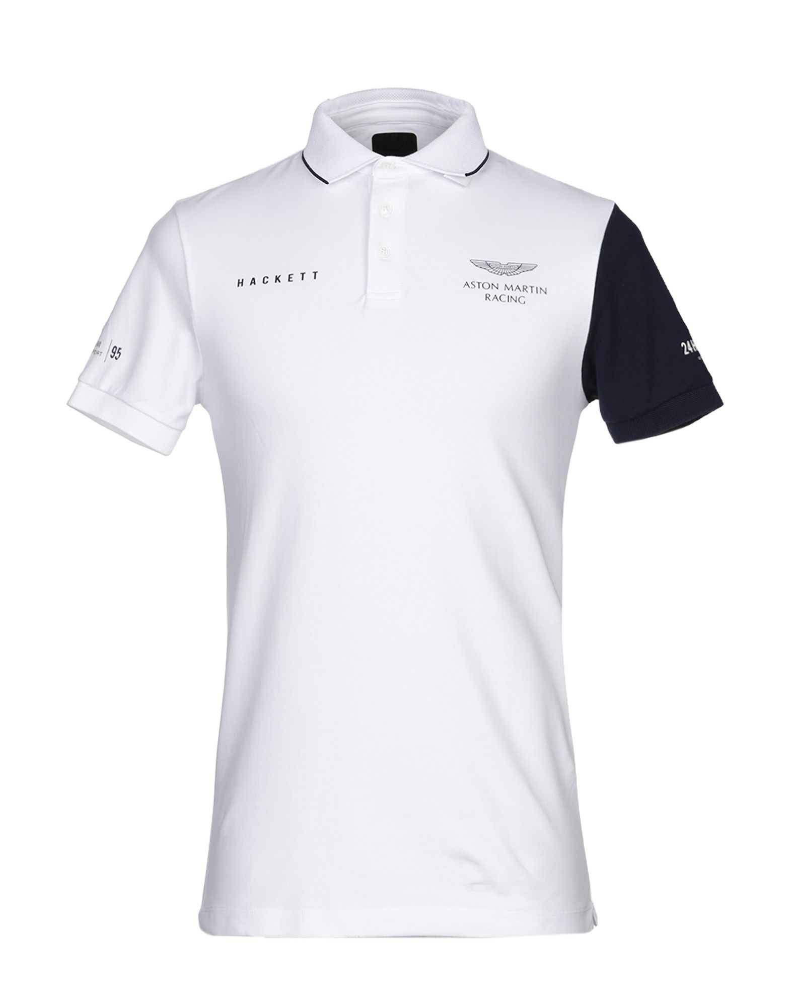 ASTON MARTIN RACING by HACKETT Polo shirt - T-Shirts and Tops | YOOX.COM | aston martin shirt hackett