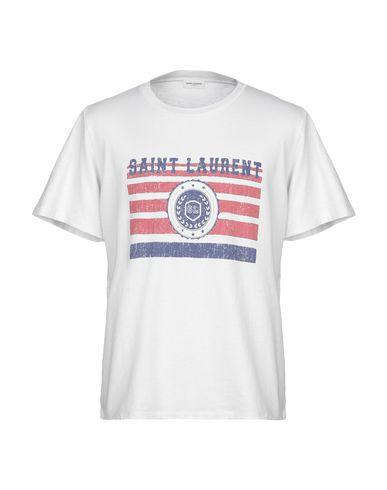 cd2677d1 Saint Laurent T-Shirt - Men Saint Laurent T-Shirts online on YOOX ...