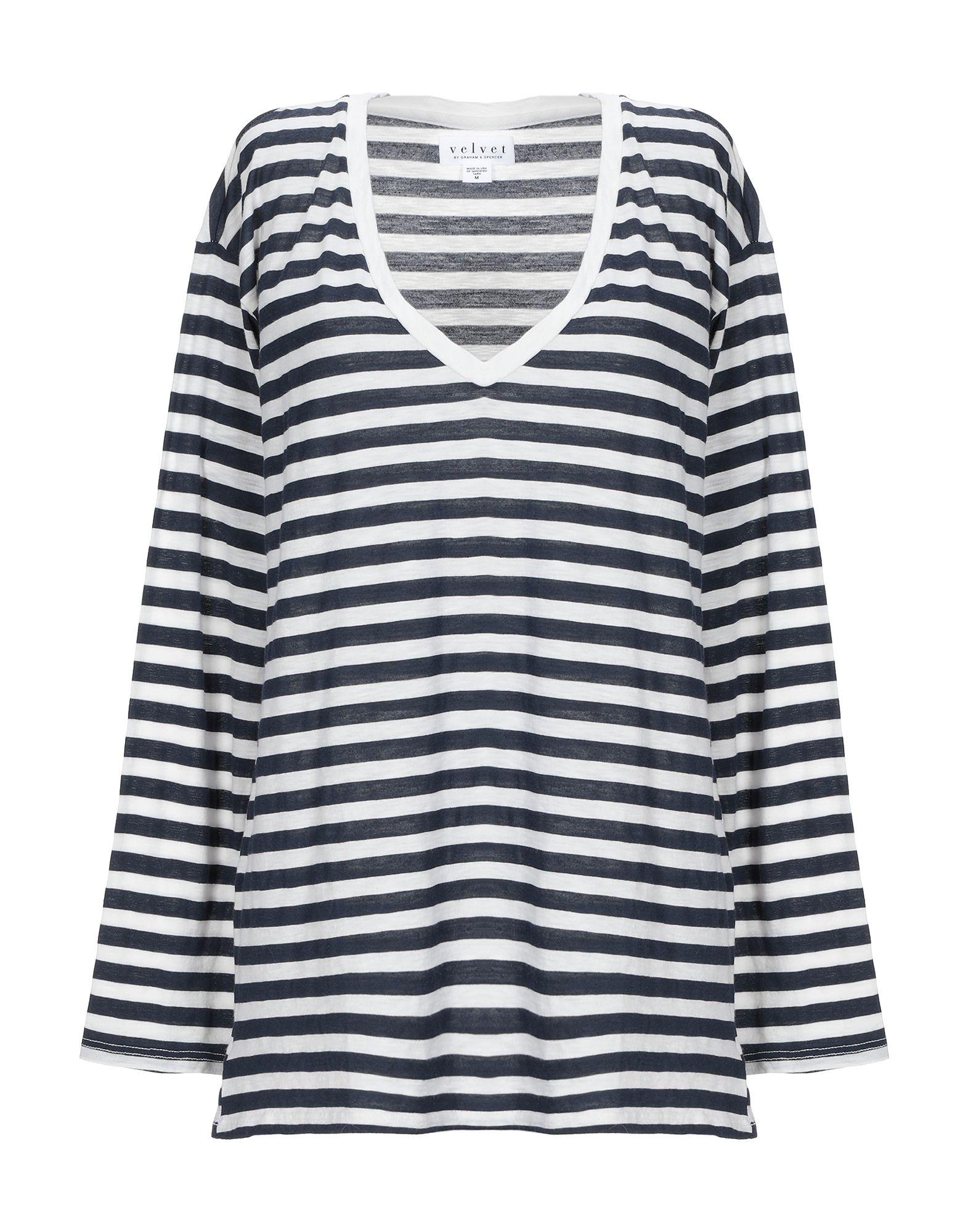 T-Shirt Velvet By Graham Graham Graham & Spencer donna - 12316836IR f53