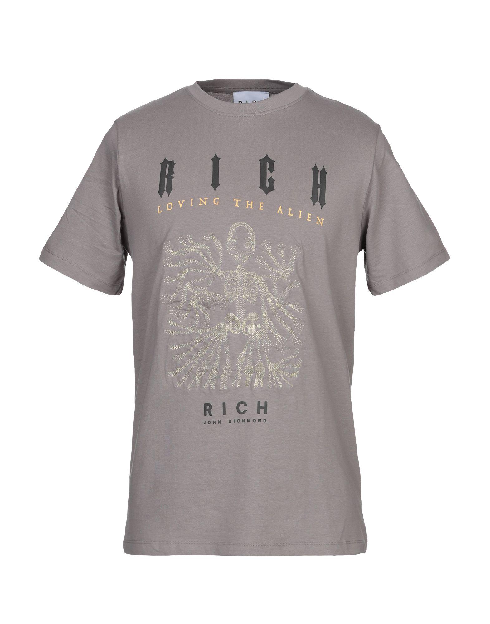 T-Shirt John Richmond herren - 12318299CD