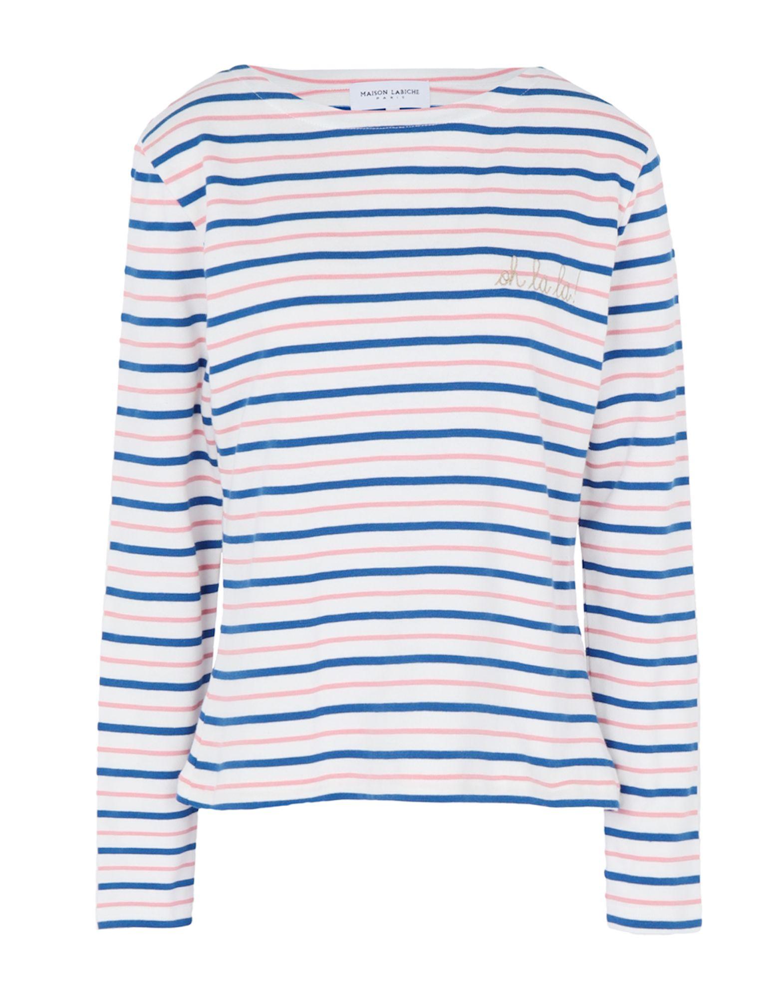 T-Shirt Maison Labiche Sailor Shirt Long Sleeves Oh L L L - donna - 12320906GX 06f