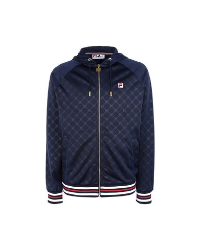 FILA HERITAGE Hooded track jacket - Jumpers and Sweatshirts | YOOX.COM