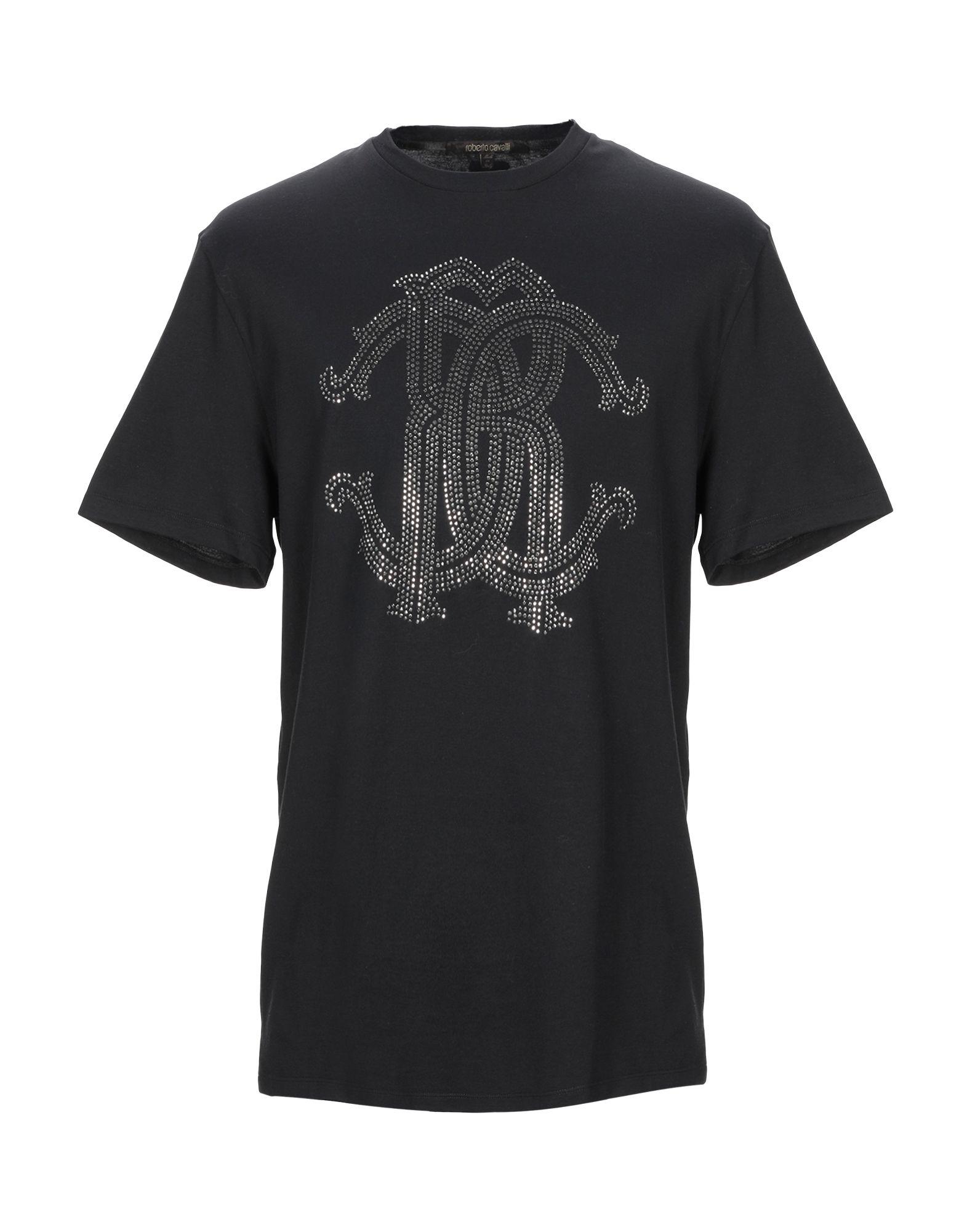 T-Shirt Roberto Cavalli Cavalli uomo - 12329692MN  beste Qualität zum besten Preis