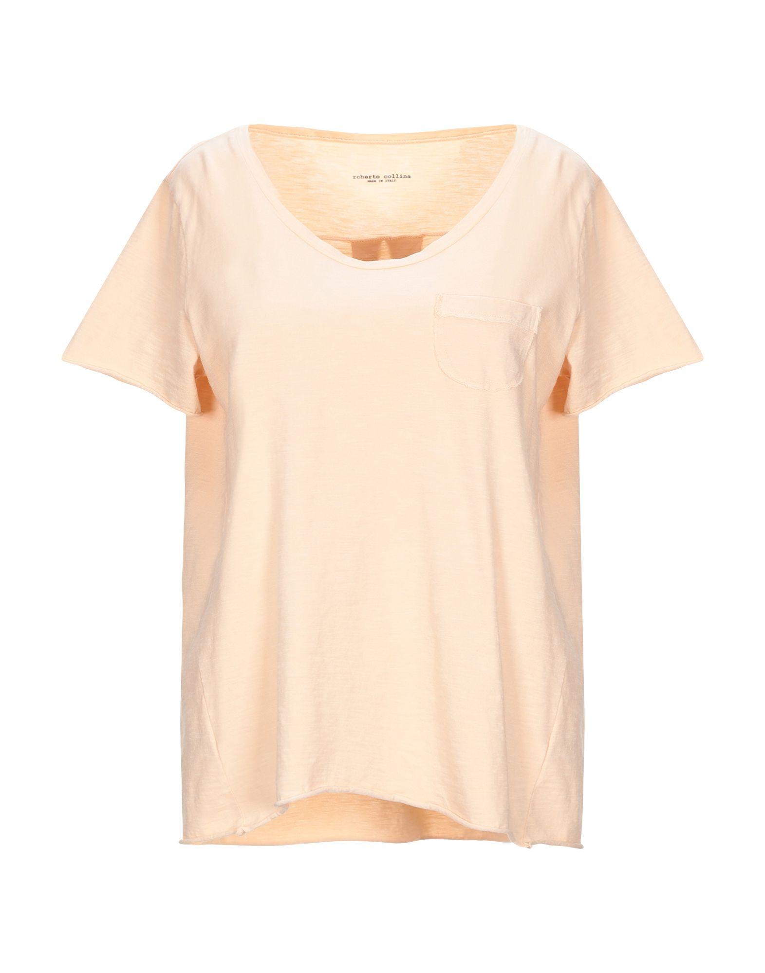 T-Shirt Roberto Collina damen - 12329760CF