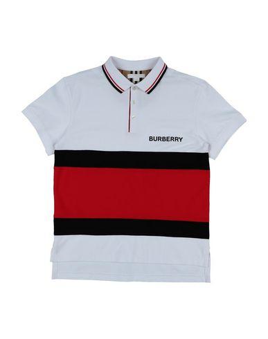 b7bc2918a528f9 Burberry Polo Shirt Boy 9-16 years online on YOOX United Kingdom