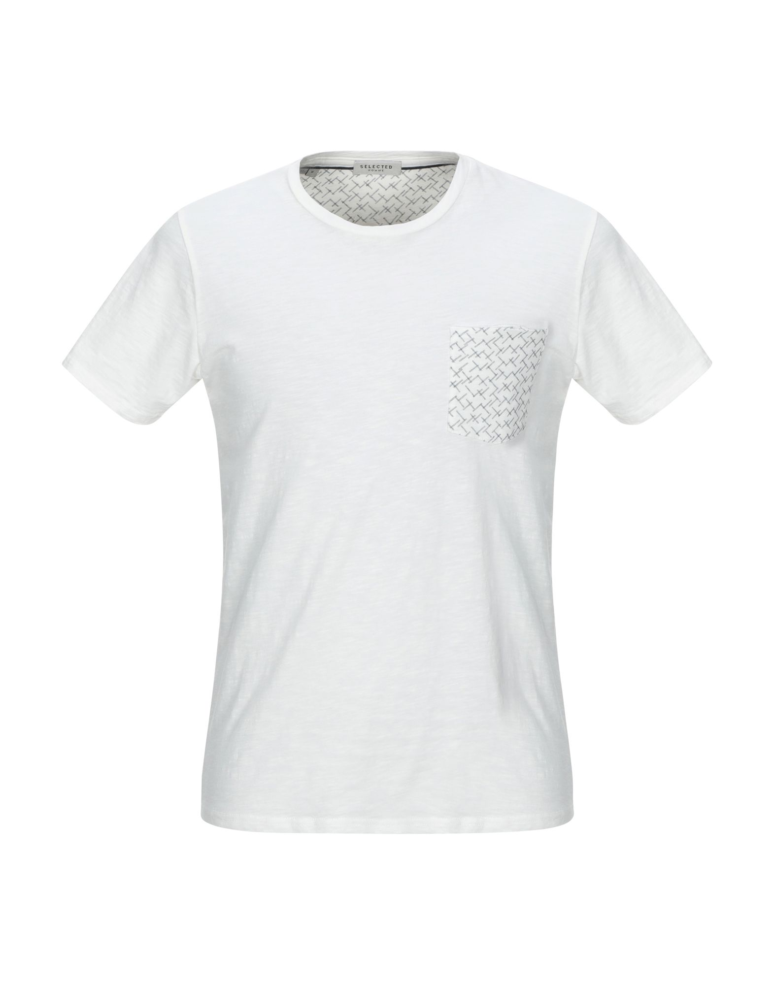 T-Shirt Selected Homme herren - 12330291XP