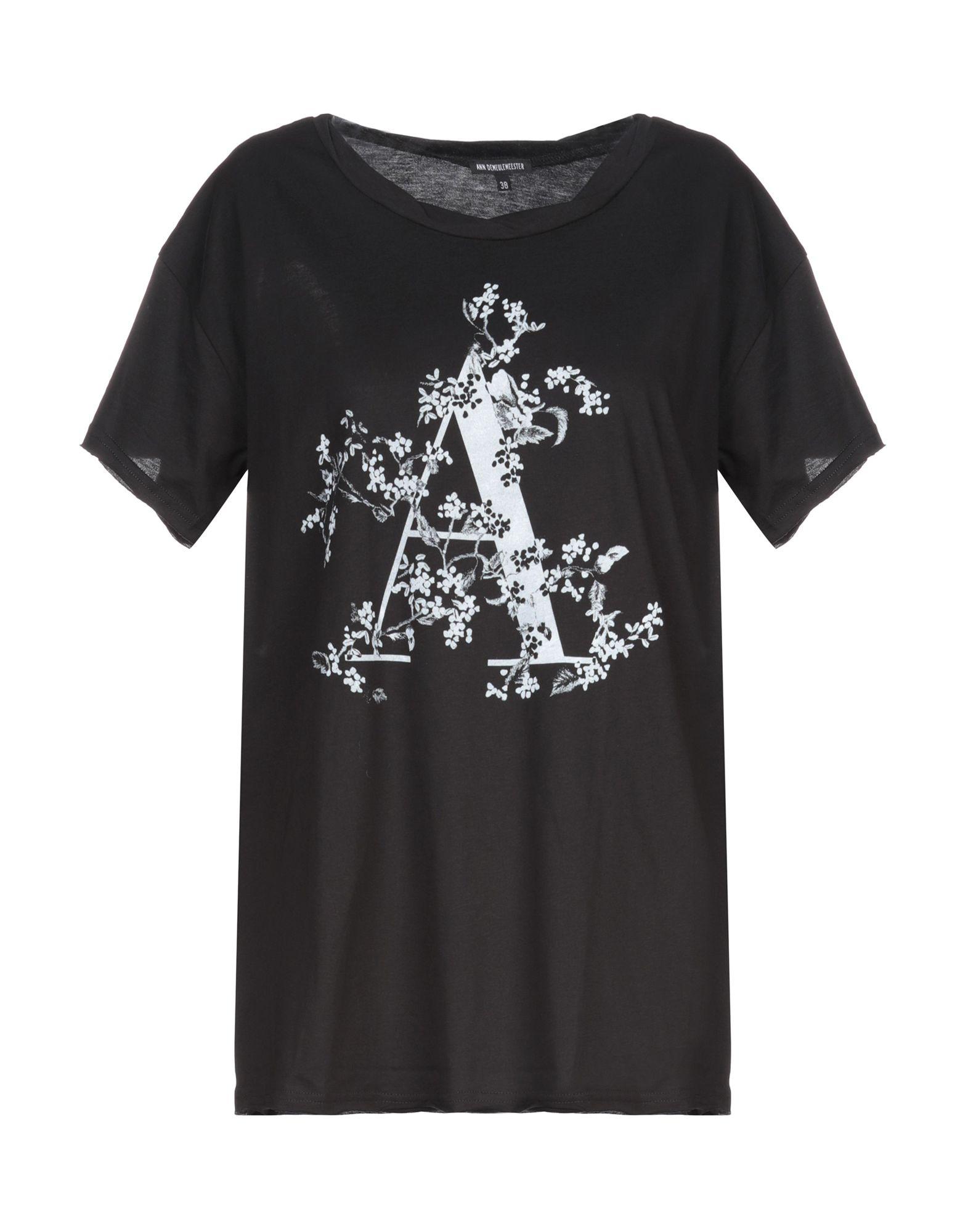 T-Shirt T-Shirt Ann Demeulemeester donna - 12332311GJ  Fabrikverkauf