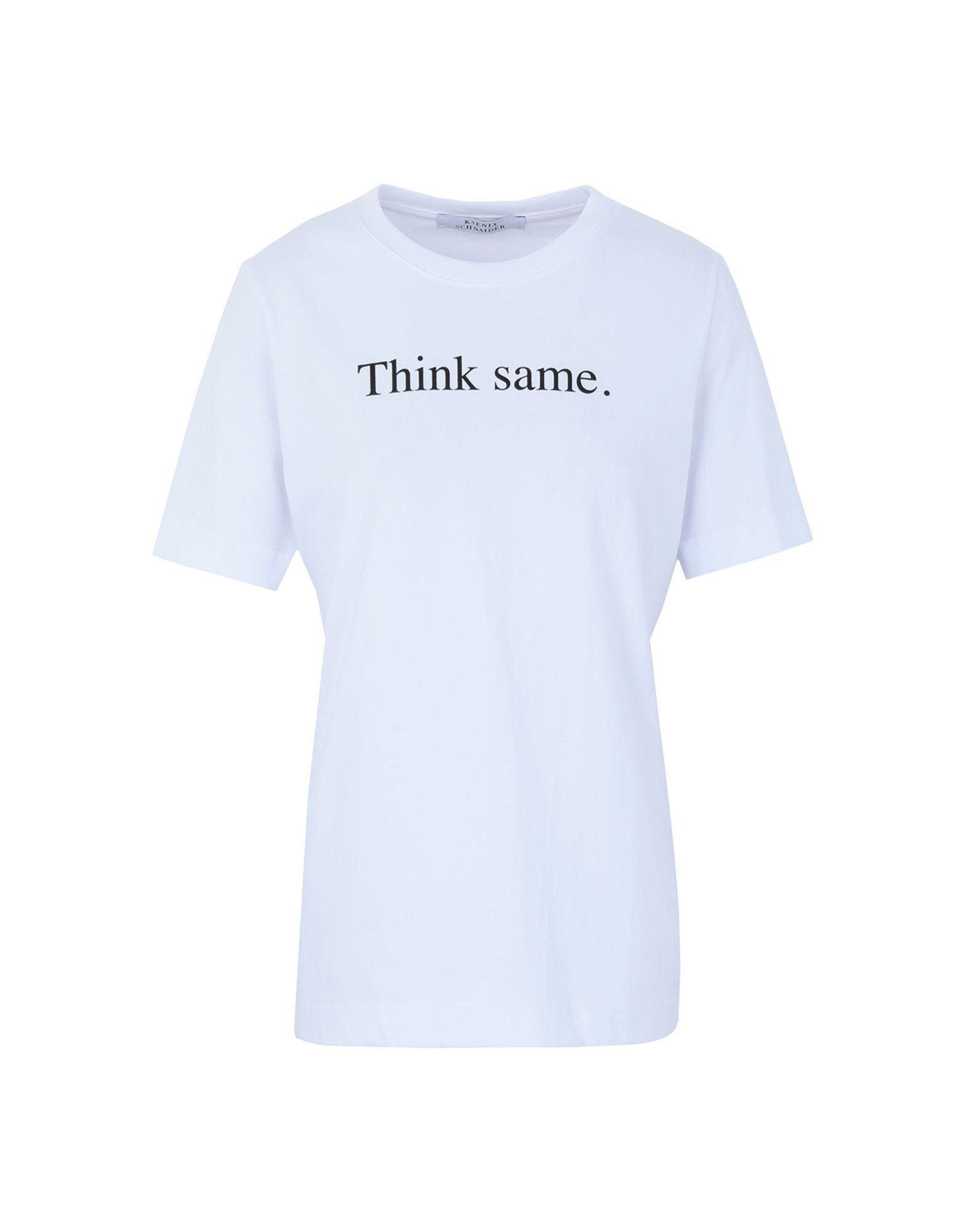 T-Shirt Ksenia Schnaider donna donna donna - 12343787OP be7
