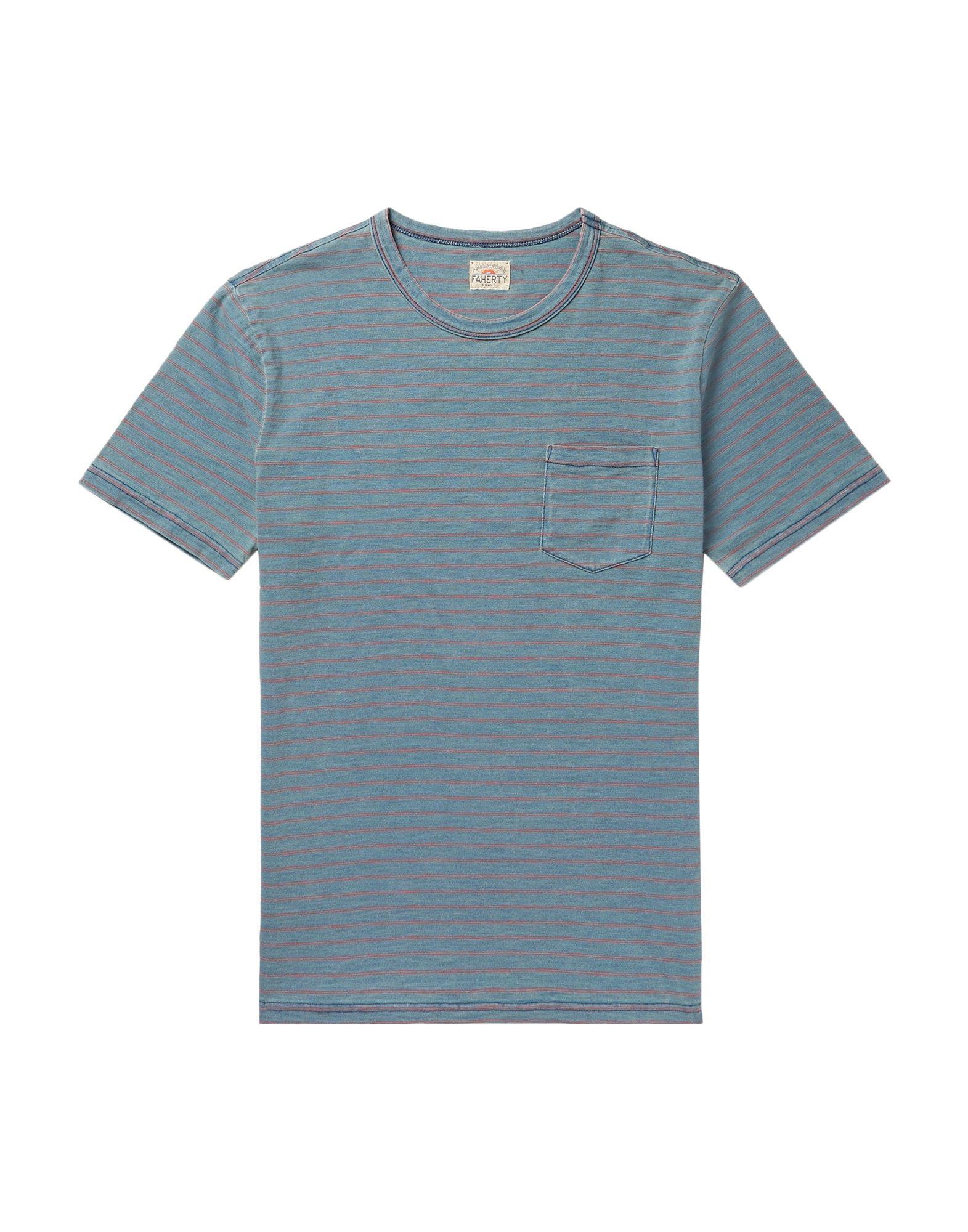 T-Shirt Faherty uomo - - 12349935ST  Es gibt mehr Marken von qualitativ hochwertigen Waren