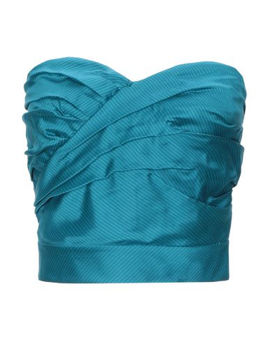Marc By Marc Jacobs Silk Top In Turquoise