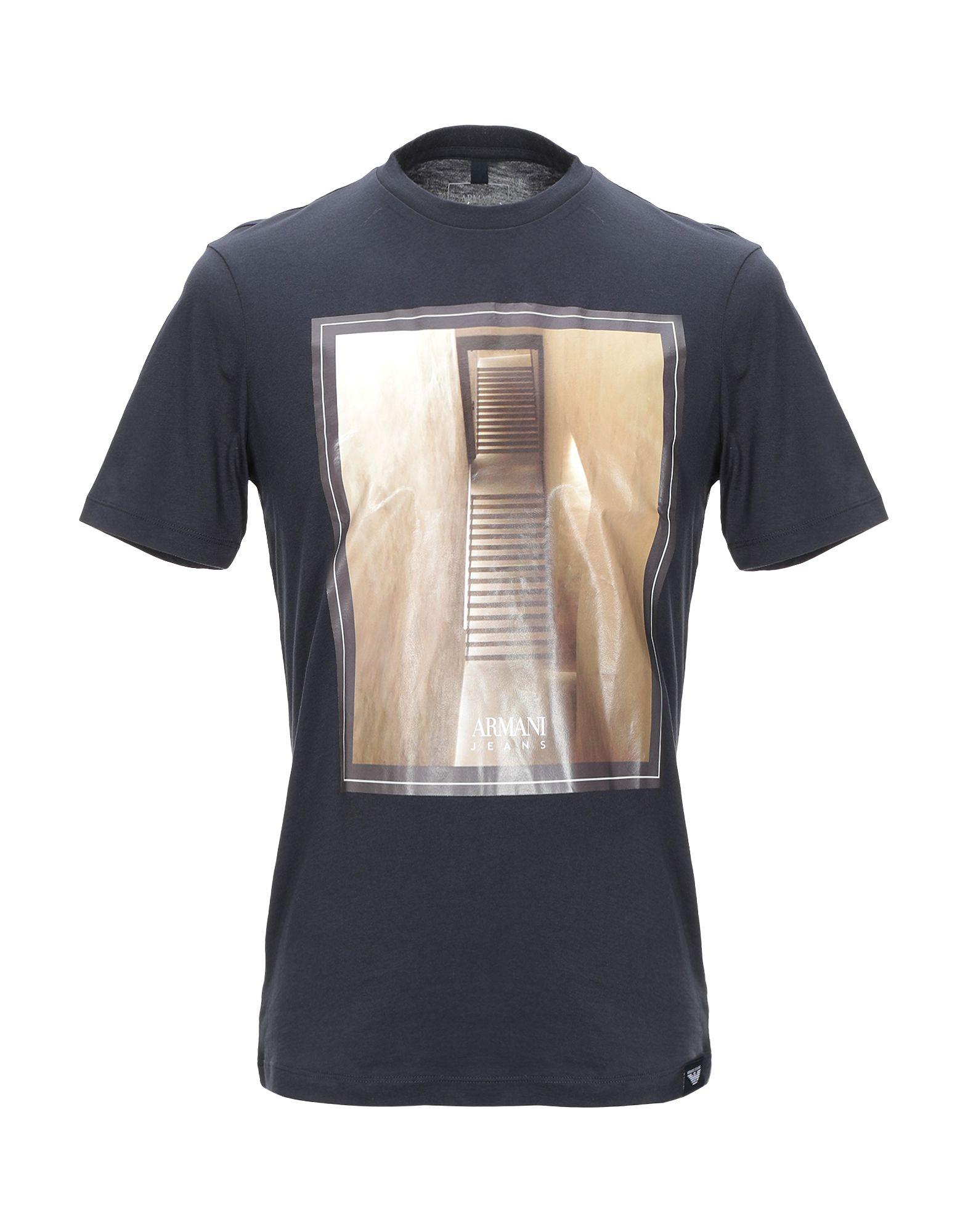 T-Shirt Armani Jeans herren - 12363854UK