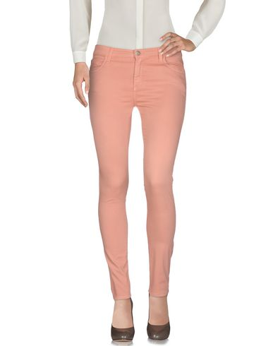 MANILA GRACE Casual Pants in Pink