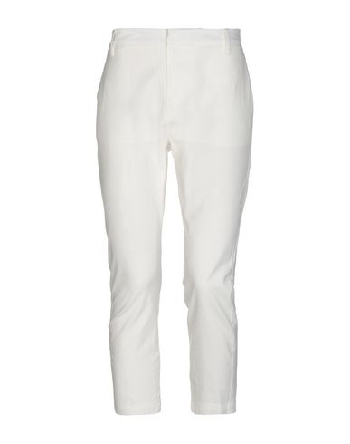 SIBEL SARAL Cropped Pants & Culottes in White